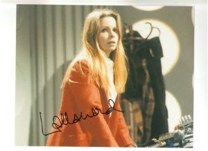Lalla Ward from Doctor Who
